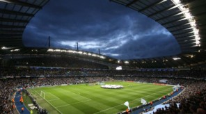 14/09/2011 - UEFA Champions League (Group A) - Manchester City vs. SSC Napoli - A general view (GV) of the City of Manchester Stadium on Man City's Champions League debut - Photo: Simon Stacpoole / Offside.