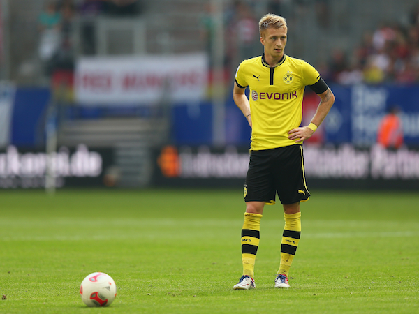 Hamburger SV v Borussia Dortmund - LIGA total! Cup 2012 Semi Final